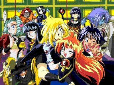 Cambiando de Tema: Slayers la mejor serie anime.