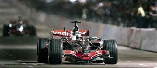 Espectacular presentación de Alonso y McLaren en Valencia