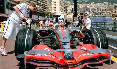 Fórmula 1 entre raíles