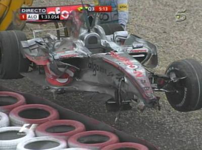 2007, Alemania, Nurburgring: El Primer Fallo